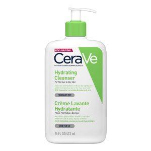 Hydrating Cleanser, CERAVE prausiklis sausai ir jautriai odai, 473 ml