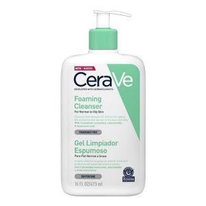 Foaming Cleanser, CERAVE prausiklis riebiai ir mišriai odai, 473 ml