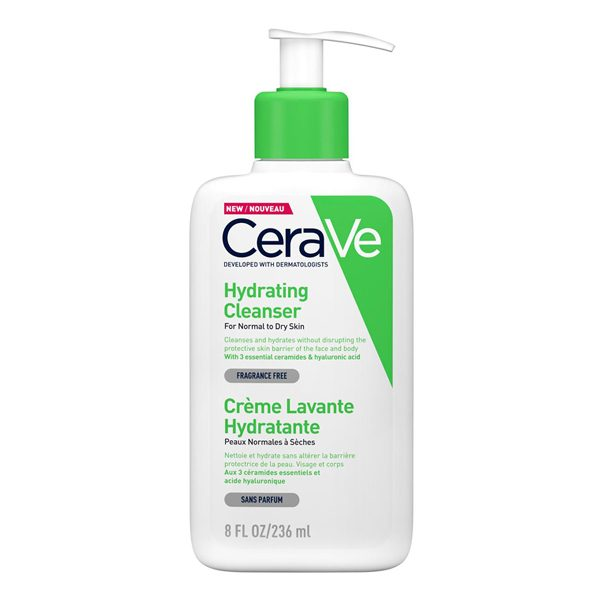 Hydrating Cleanser, CERAVE prausiklis, 236 ml