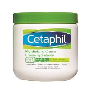 Creme Hydratante, CETAPHIL veido ir kūno kremas sausai ir jautriai odai, 450 ml