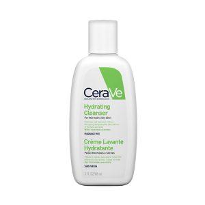 Hydrating Cleanser, CERAVE prausiklis sausai ir jautriai odai, 236 ml