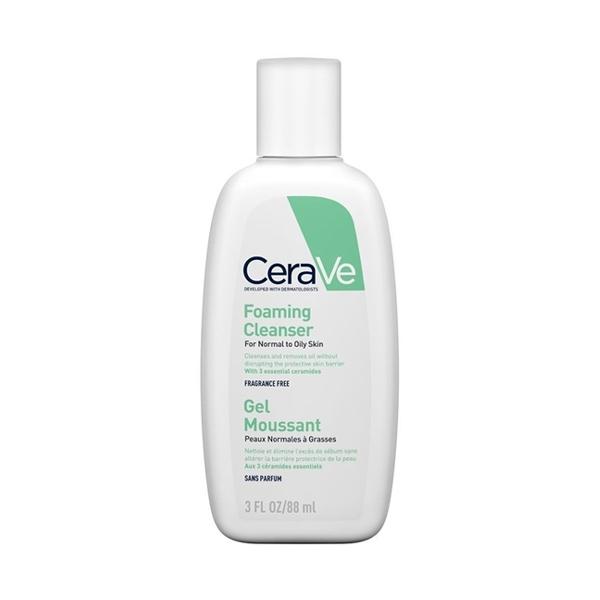 Foaming Cleanser, CeraVe veido ir kūno prausiklis, 88 ml