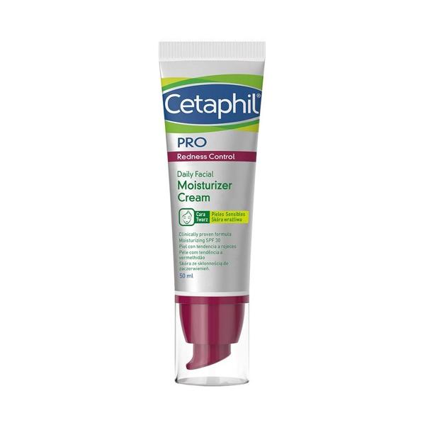 PRO Redness Control, CETAPHIL drėkinamasis kremas SPF 30, 50 ml