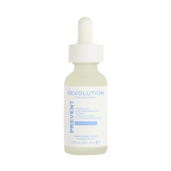 1% Salicylic Acid Marshmallow Extract, Revolution Skincare salicilo rūgšties ir svilarožės serumas, 30 ml