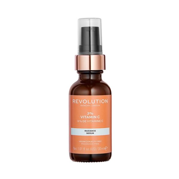 3% Vitamin C, Revolution Skincare 3% vitamino C serumas, 30 ml