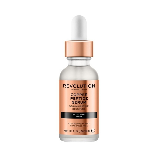 Copper Peptide Serum, Revolution Skincare veido serumas, 30 ml