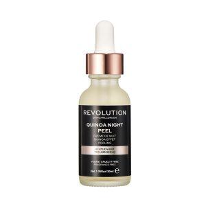 Quinoa Night Peel, Revolution Skincare naktinis šveitiklis ir serumas, 30 ml