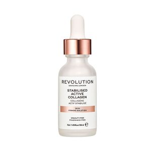 Stabilised Active Collagen, Revolution Skincare stabilizuoto kolageno serumas, 30 ml